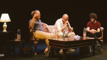 Yonatan Berg, Sándor Jászberényi and Stephen Connolly