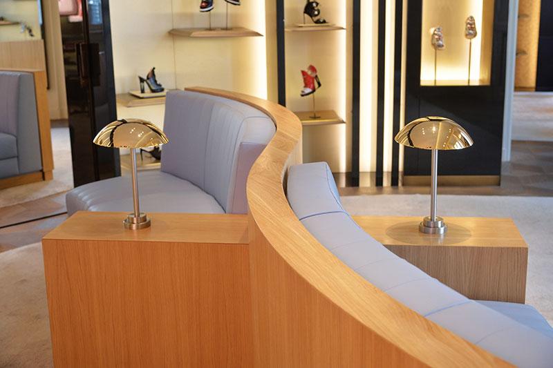 Fendi Casa, Architect Guglielmo Ulrich's furniture designs