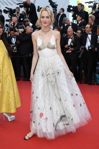 Daria Strokous in Dior