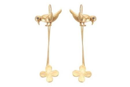 Dhora Keet W Flower earrings
