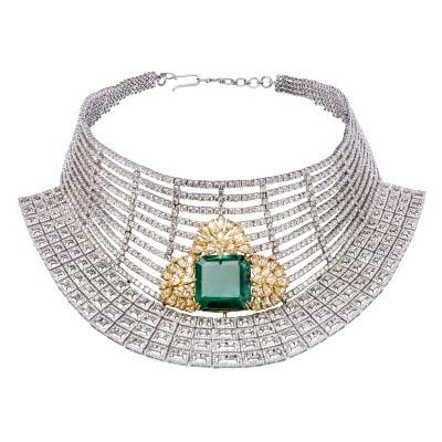 Diamond Passion choker with diamonds