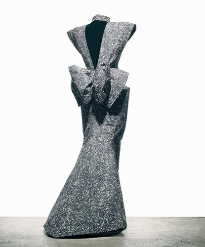 Dresses inspired by Pollock (1984-1985)