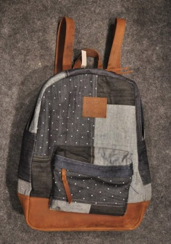 Patchwork backpack from Doodlage