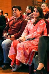 Dr Shriram Nene and Madhuri Dixit at INK 2014