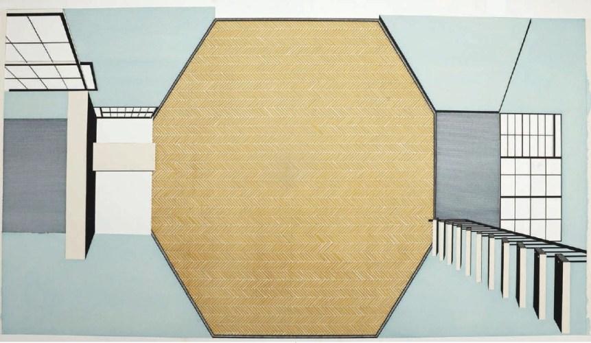 Eames House (detail)