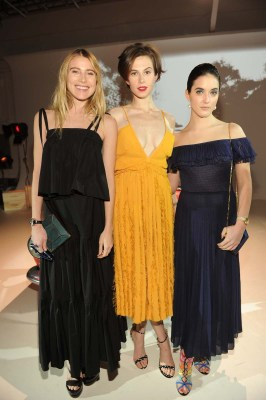 Dree Hemingway, Elettra Rossellini Wiedemann, Alaia Baldwin
