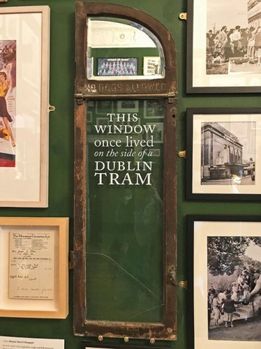 Antiques on display at the little museum of Dublin