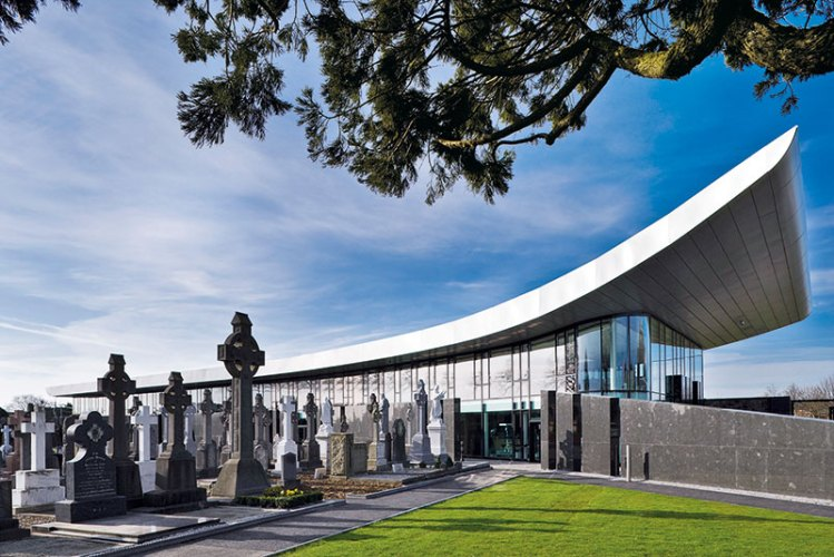 Glasnevin Museum overlooking the cemetery