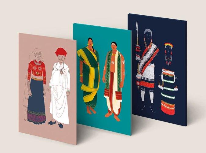 Postcard People by Pavithra Dikshit