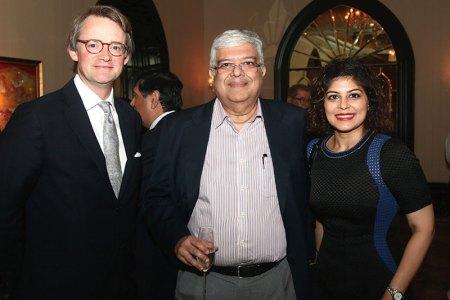 Edward Gibbs, Imtiaz and Ismat Kanga