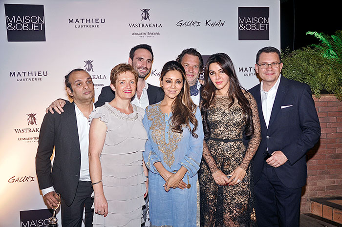 Elodie Renaud, Alexis De Ducla, Gauri Khan, Jean-Francois Lesage, Kaykasshan Patel, Frederic Bougeard
