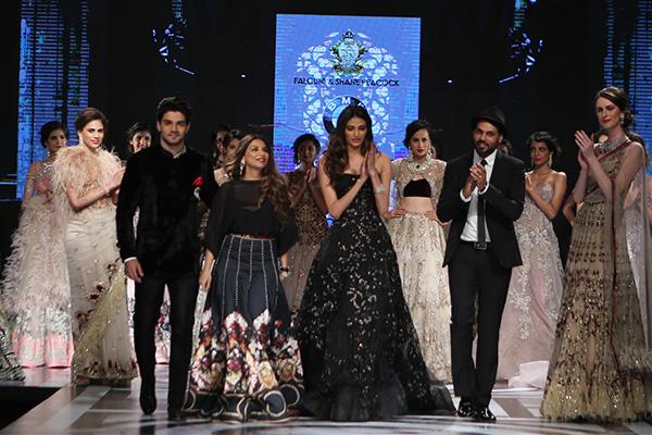 Athiya Shetty and Sooraj Pancholi for Falguni and Shane Peacock