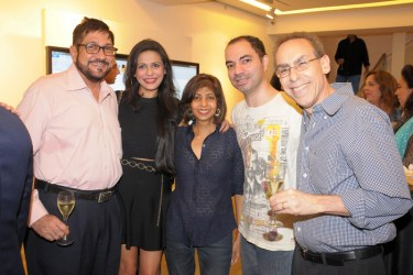 Farid Currim, Shalini Chuganee, Tabu Rothman, Cyrus Dastur, Richard Rothman
