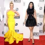 American Music Awards 2014 music celebrity red carpet