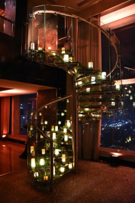 Floating Candle Staircase