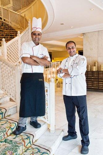 Chefs Ashish Ugal and Rajesh Singh