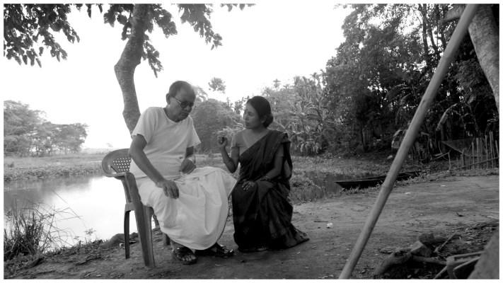 Rima Das with Bishnu Kharghoria