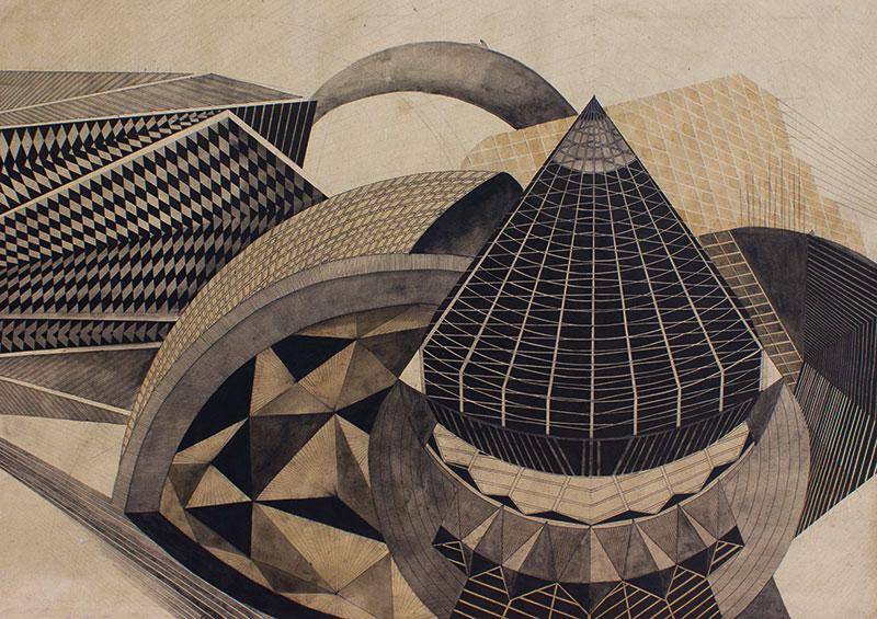 Fractal Future, Bhagyashree Suthar, Akara Art, Mumbai