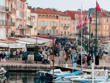 Saint-Tropez: upscale hangout near the harbour
