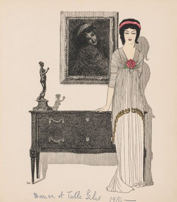 """""""Paul Poiret's dresses narrated by Paul Iribe"""", Paris, 1908"""
