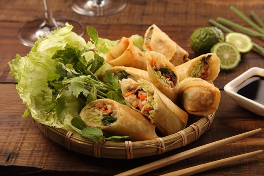 Thai Fried Spring Rolls Veg