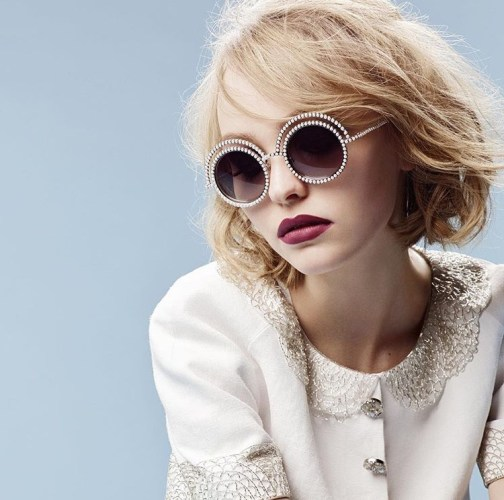 Lily Rose Depp for Chanel Eyewear