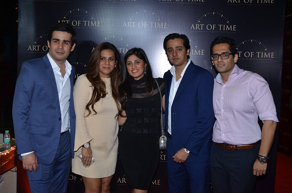 Gaurav Bhatia, Mamta Anand, Mona and Essaji Vahanvati, Bharat Kapoor