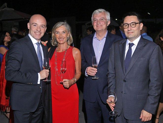 Gerard Lopez, Isabelle Beau de Lomenie, Tristan Beau de Lomenie, Alexandre Ziegler