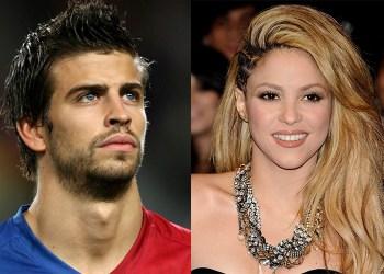 Gerard Piqué and Shakira