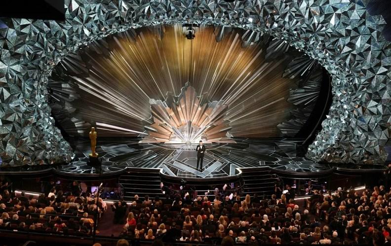 Swarovski illuminates 90th Oscars stage with over 45 million crystals in stunning set design