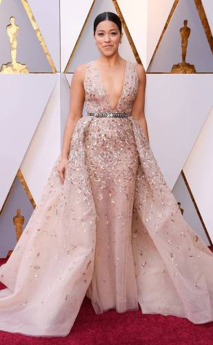 Gina Rodriguez in Zuhair Murad Couture