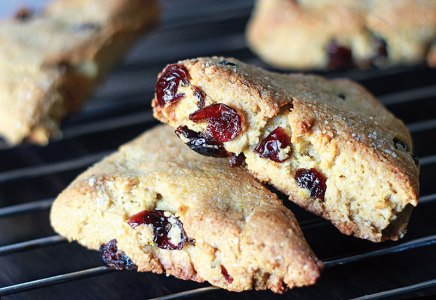 Almond Meal And Cranberry Scones