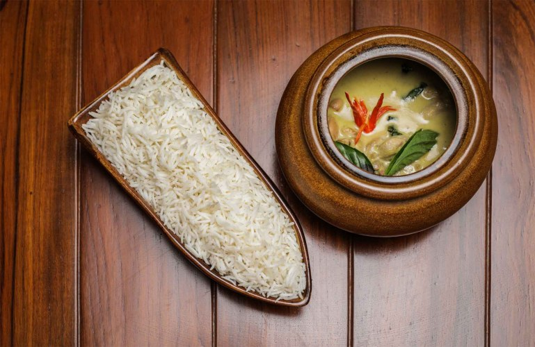 Green Thai Curry of Chicken