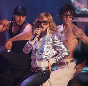Madonna at a concert