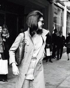 Jaqueline Kennedy Onassis, New York, 1970