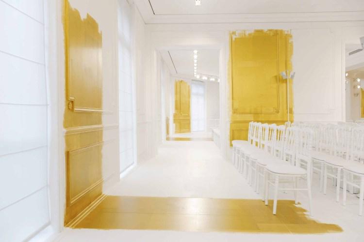 The couture salon at 30 Avenue Montaigne