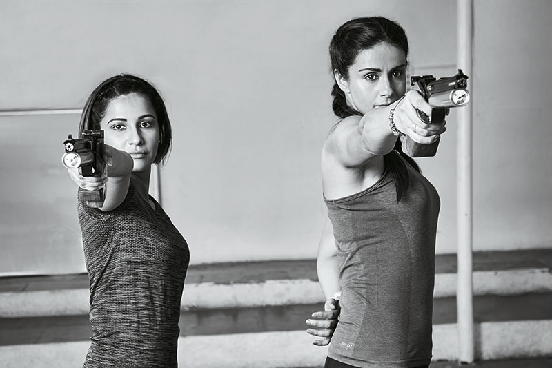 Heena Sidhu, Gul Panag, Ace shooter, Actor