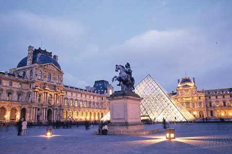 The Louvre: most visited museum