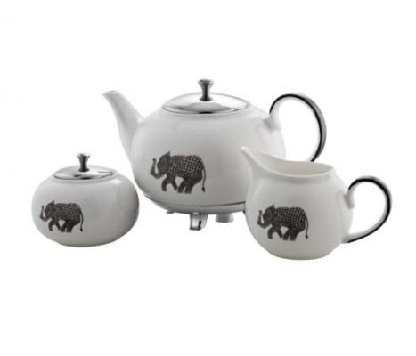 Heritage tea set from Arttd'inox