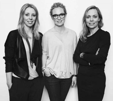 Karin Söderlind, Sofia Malm and Kristina Tjäder