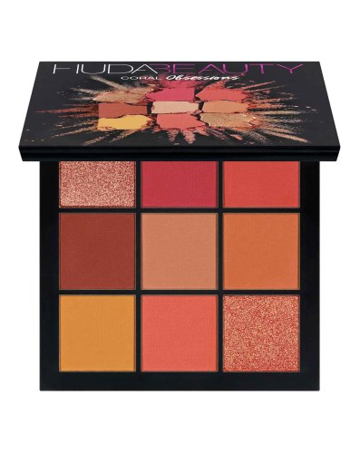 Huda Beauty's Coral Obsession Palette