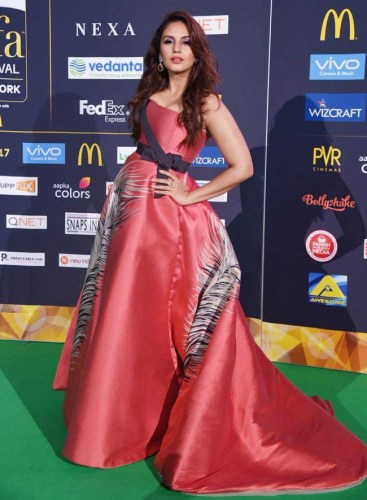 Huma Qureshi in Carolina Herrera