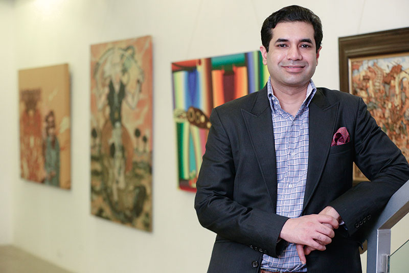 Tushar Sethi, director, ICIA, The Arts Trust