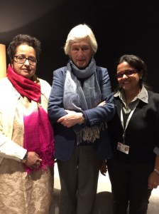 Verve's Shraddha and Falguni with Jasmine Audemars