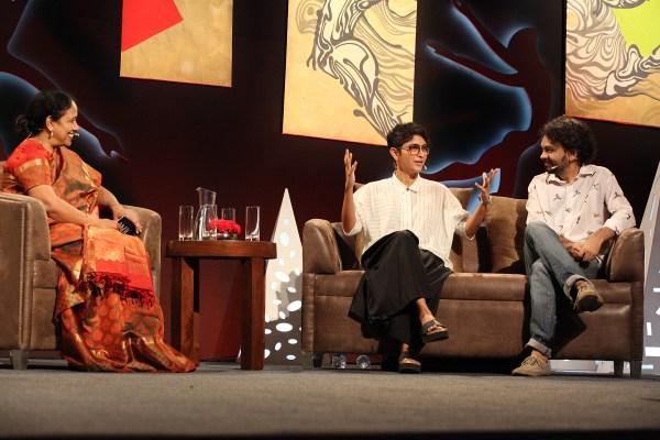 Laxmi Pratury, Kiran Rao, Anand Gandhi