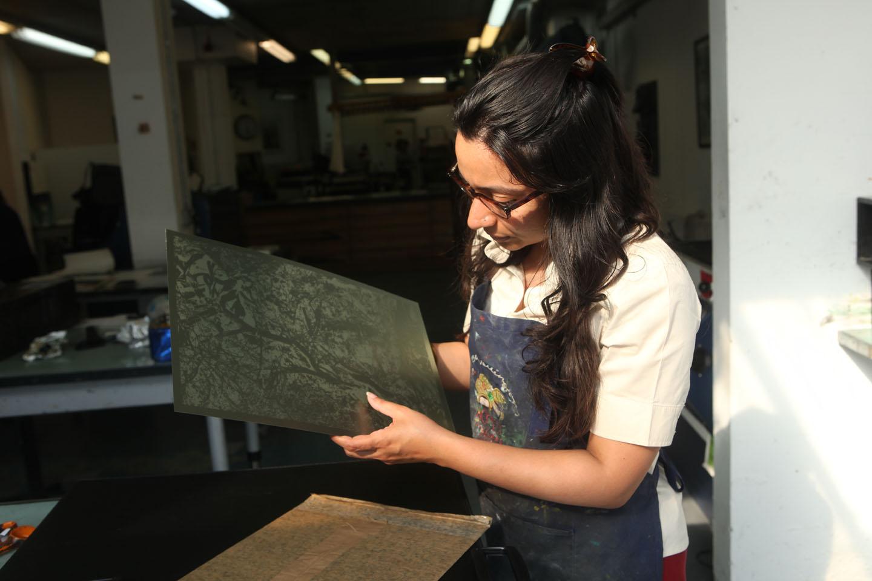 Mixed media video art show Sonia Mehra Chawla scapelands Tarq art gallery