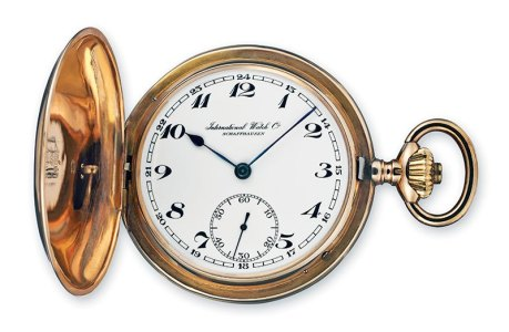 IWC Calibre 53 14-Carat Pocket Watch