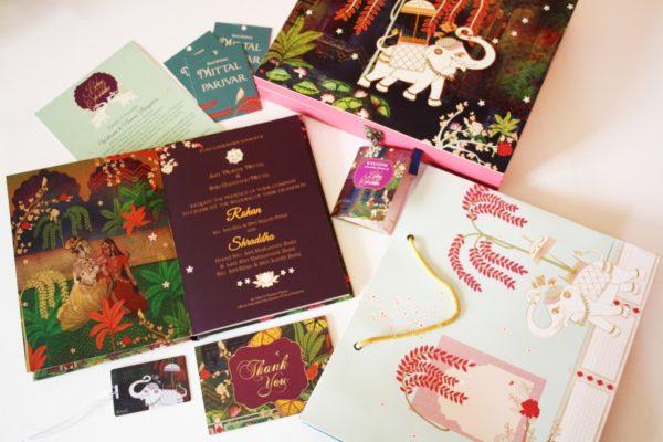 Bespoke, Cards, Decor, Design, Featured, Iktaara, Illustrator, Kanika Jain Gupta, Marriage, Online Exclusive, Stationery, wedding