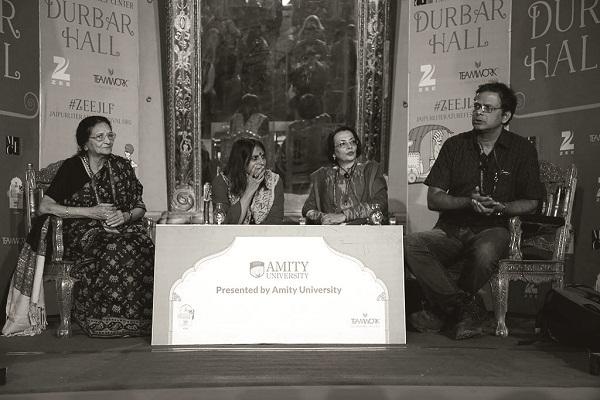 Ila Arab Mehta, Rita Kothari, Priya Sarukkai Chabria, Jerry Pinto at 'Readings - In Other Words'