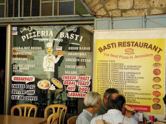 A typical street restaurant